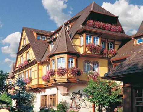 Hotel l alsace l asiatique obernai 67 les for Boutique hotel alsace