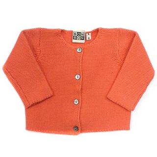 bonton-coral-knit-cardigan