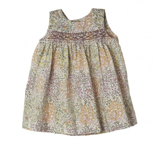BONPOINT Robe Clothi Liberty Miel
