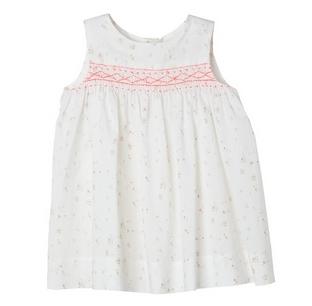 BONPOINT - Robe Clothi fleurs roses 1