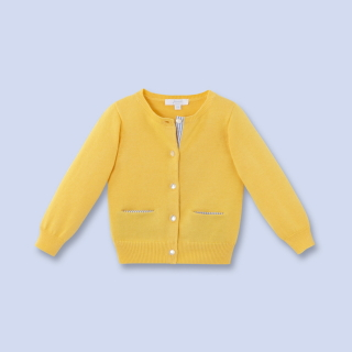 jacadi gilet jaune