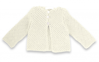 gilet-pour-bebe-coton-coloris-ivoire
