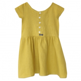 MERCREDI LILLE robe-limonade-lin-jaune-sunday
