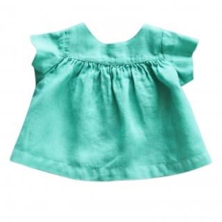 blouse-vert-pacific-lin