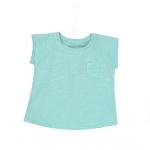 teeshirt-coton-bebe-enfant-menthe