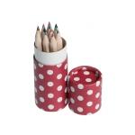 tube-de-12-crayons-a-pois