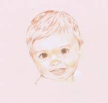 portrait by bm