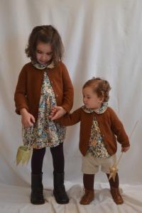MRA - Fleuri - Robe et blouse 1
