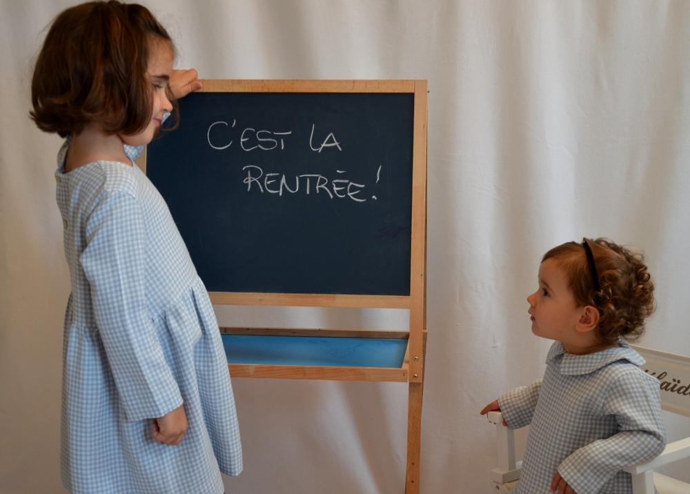 MRA - Vichy - Robe et blouse 2