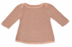 pull-maille-coton-raye-poudre