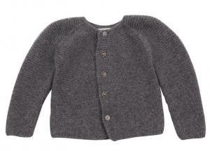 cardigan-double-fils-mousse-gris