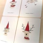 cartes-lot-de-4-cartes-de-voeux-illustree-11655635-christmasanimalb454-ab6e0_570x0