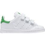 adidas-stan-smith-basket-velcros-cuir-blanc-vert