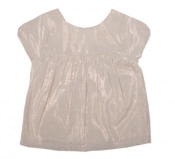 E15FB09_tee_shirt_blouse_habillée_rose_poudrée_brillant_bébé_fille