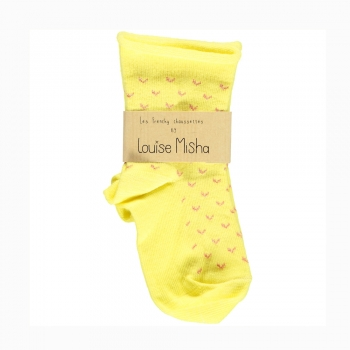 Socks_Coeur_yellow_Louise_Misha_1