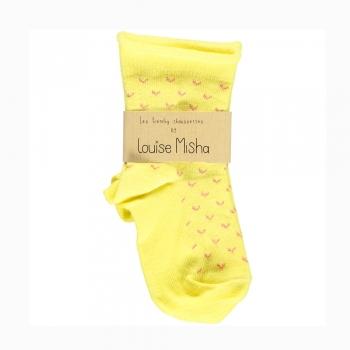 Socks_Coeur_yellow_Louise_Misha_1