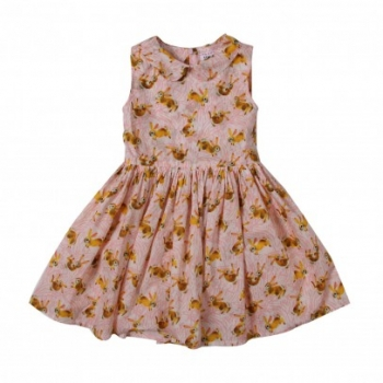 robe-lapins-bee-rose