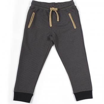 H16FP07_pantalon_jogger_pique_bicolore_poches_fille_bebe_hiver_noir_anthracite