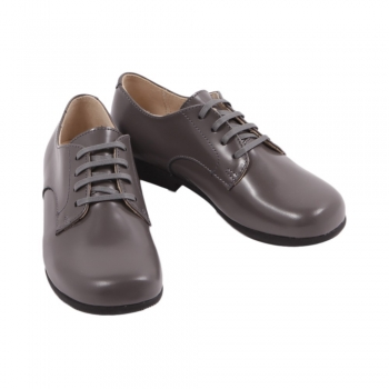 derbies-cuir-john-gris-anthracite