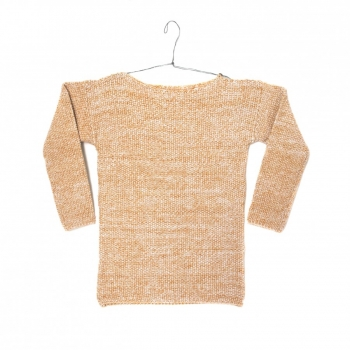 pull-mouline-enfant-moutarde-ecru