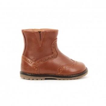 boots-cuir-zip-tictac-camel
