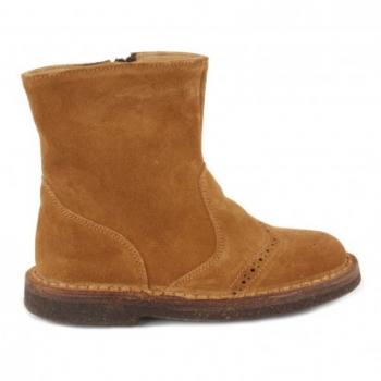 boots-cuir-zippees-bout-fleuri-caramel
