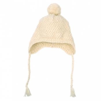 bonnet-pour-bebe-ecru-forme-bonnet-peruvien-tricote-main-au-point-de-ble