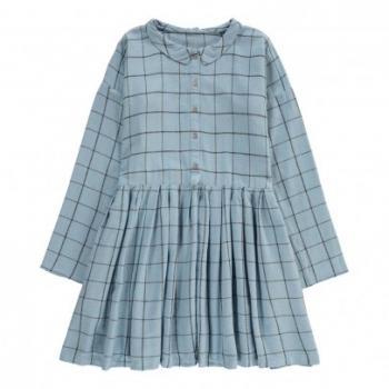 robe-boutonnee-carreaux-elise-bleu-ciel