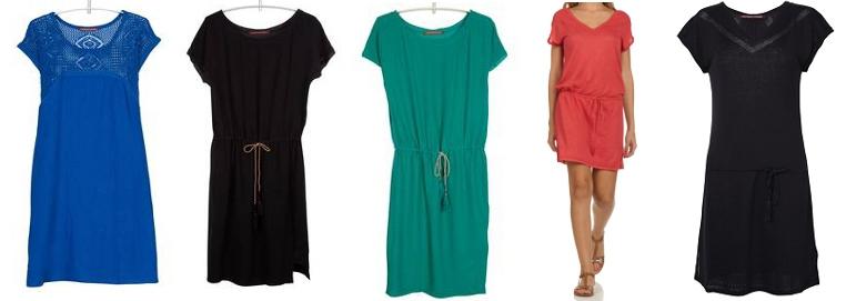 Belles robes blog robe verte comptoir des cotonniers - Robe bleue comptoir des cotonniers ...