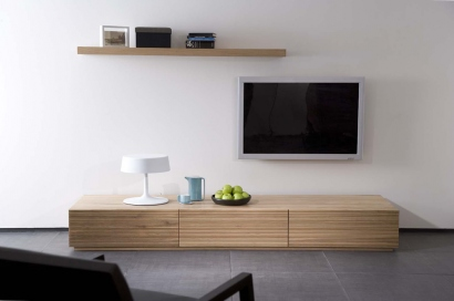 Meuble bas tv 2 m de long for Meuble salon long