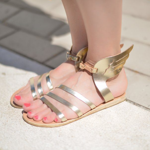 Women Grec Style Shoes